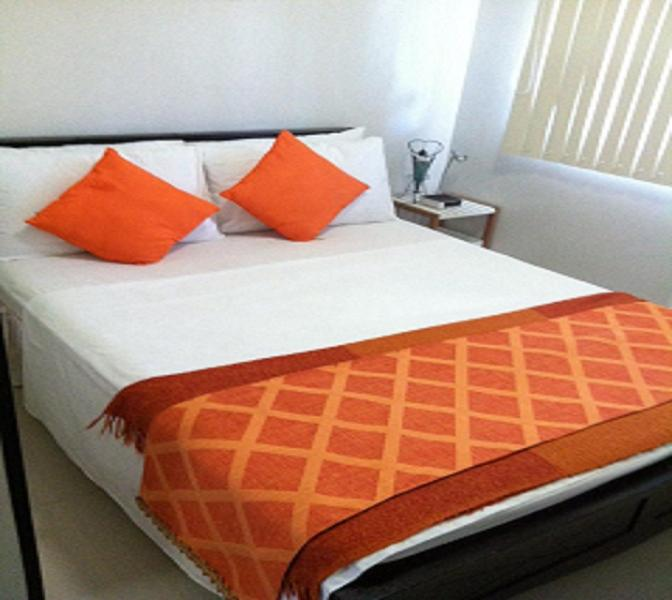 Comfortable full size double bed