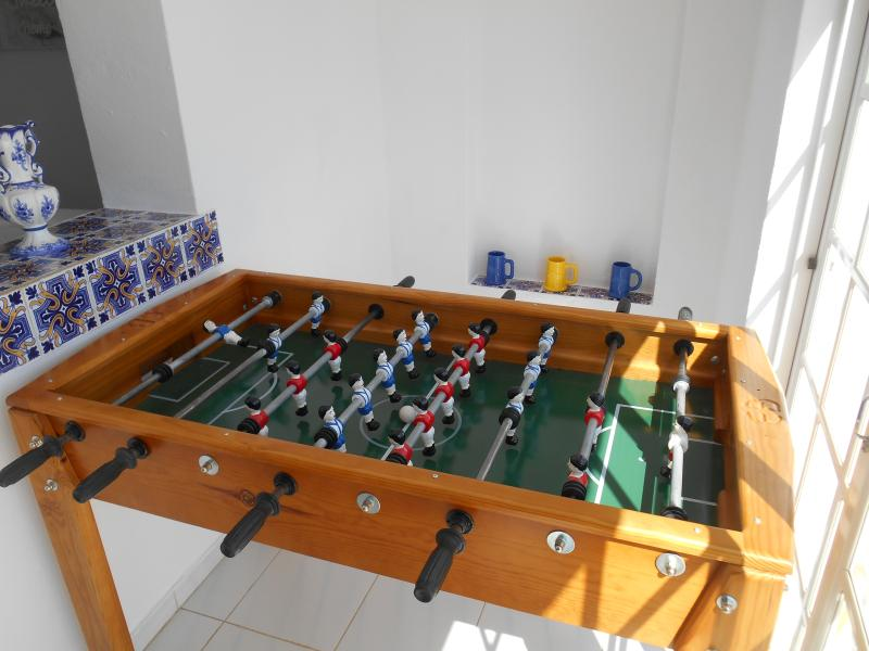 Games table.