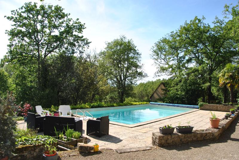 Pool 12m x 6m with alarms. Sun terrace (sunbeds and parasols provided for guests).