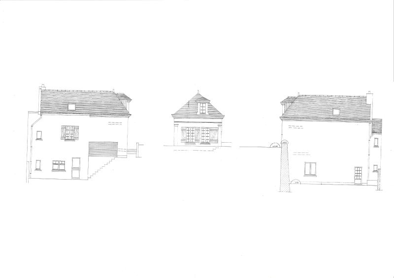 Exterior plan of Cottage