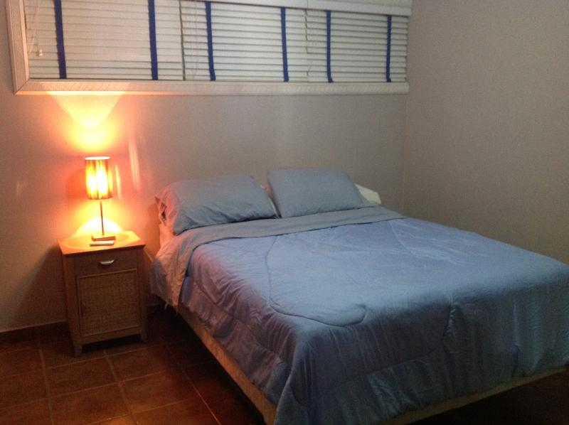 Second bedroom has queen size bed and A/C.