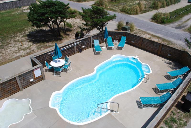 View of Pool from Top Deck