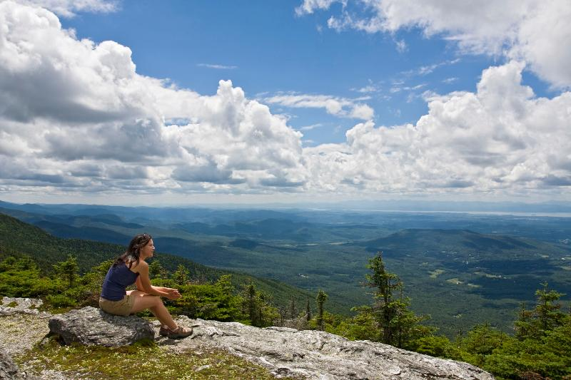 The Pinnacle—a spectacular hike—just minutes for your door at Goldilocks Cabin