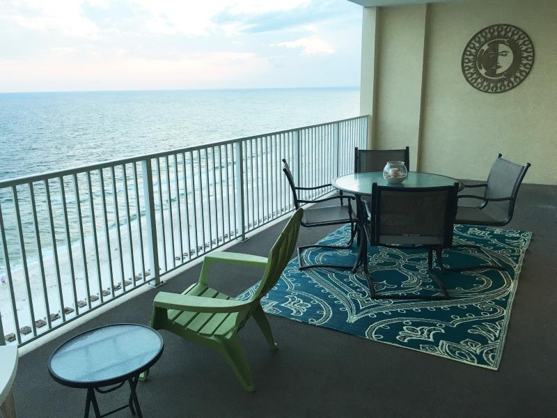 Enjoy the largest balcony in Panama City Beach.....10' wide x 28' Long!!