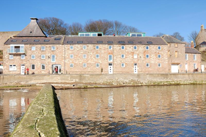 The Maltings building - No. 1 at the far end.
