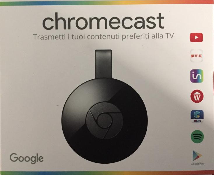 Chromecast I tuoi contenuti alla TV