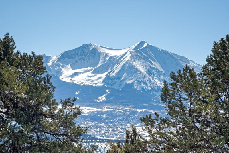 Mount Sopris from back yard