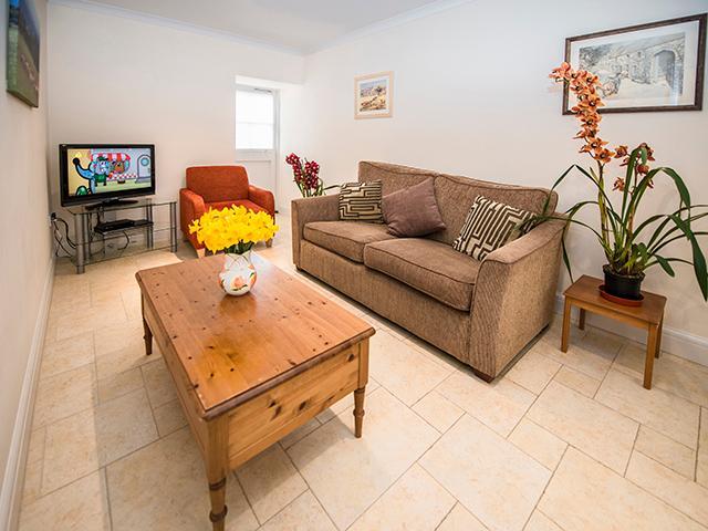 Lounge of L'Etable Cottage.