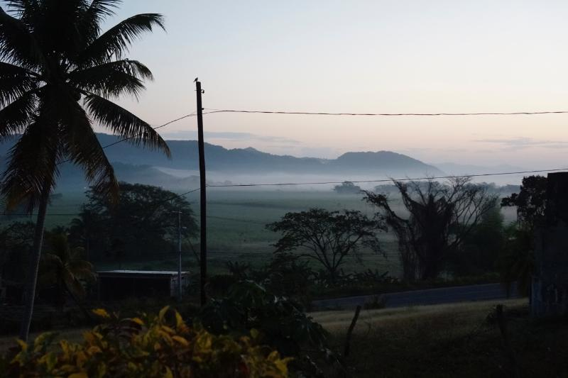 Retreat Plantation House - dawn mist in the valley