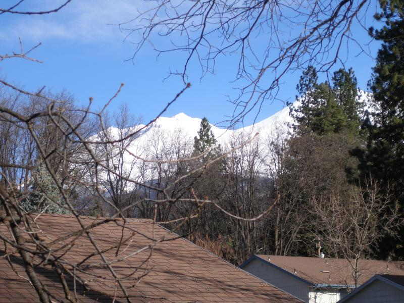 winter view from the master bedroom