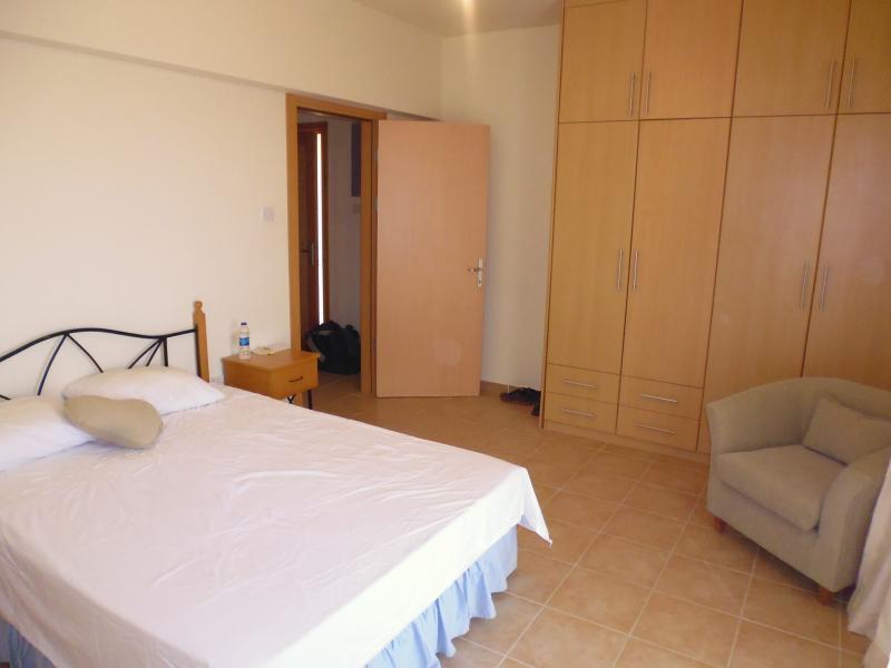 Master bedroom towards entrance door.
