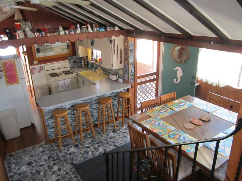 Enter into this nice Kitchen/Dining Room