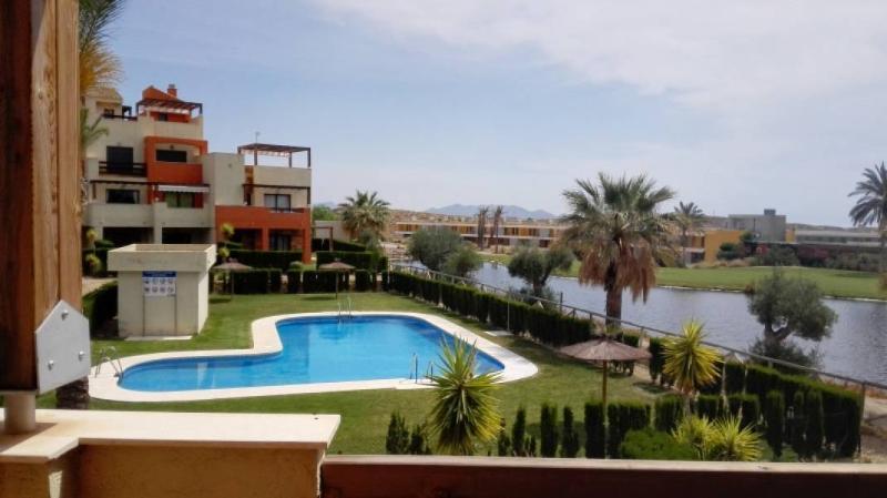 853- Apartamento de Verano en Campo de Golf, alquiler vacacional en Bédar