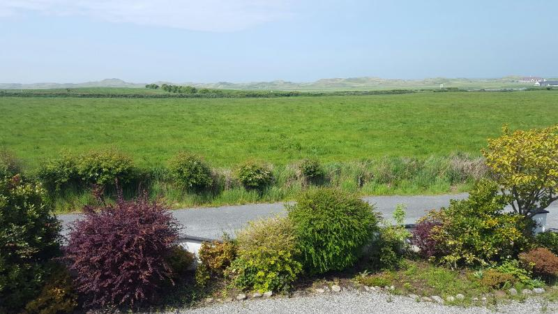 Front garden with view of Enniscrone Golf Course