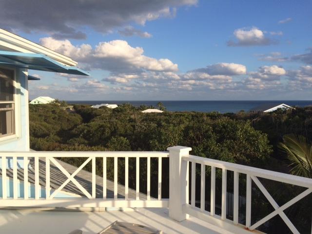 From top deck off Master Bedroom on Top Floor Overlooking the Atlantic Ocean