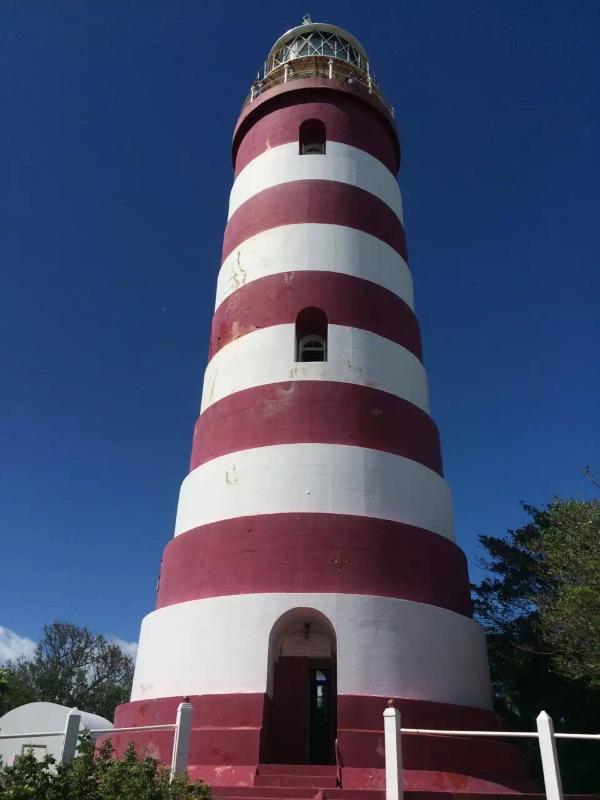 Elbow Reef Light House, One of Two World's Remaining Hand Operated Lighthouse