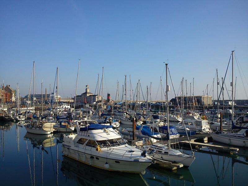 Ramsgate harbour, just a short walk from The Coachhouse.