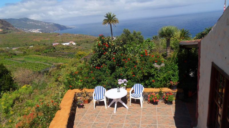 Uitzicht vanaf Casa Gron