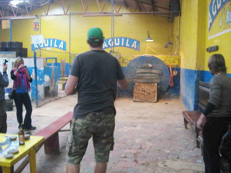 Try to play this  typical Colombian GAME sure you will have FUN a lot.