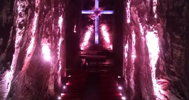 Do not miss the opportunity to EXPLORE  The SALT CATHEDRAL  of Zipaquira which is only two hours