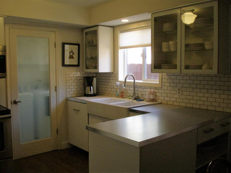 stylish well equipped kitchen
