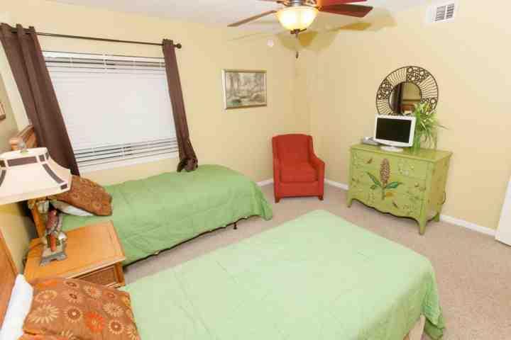 Kamer met een zithoek, flat screen TV / DVD