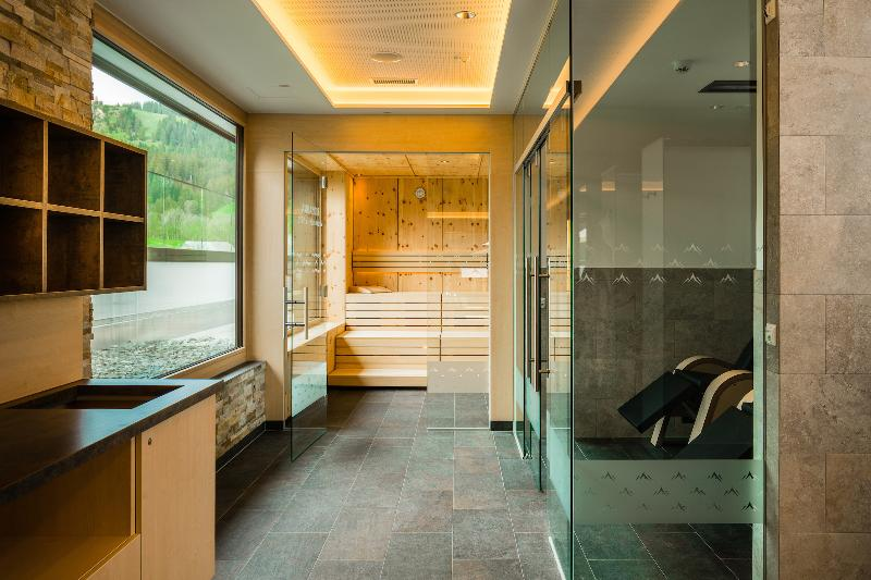 The transition in the wellness area for bio stone pine