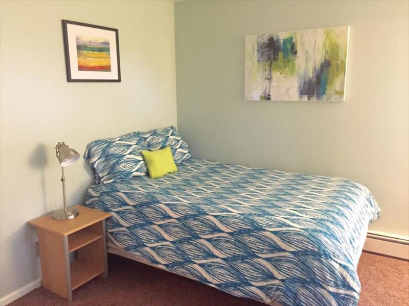 Upstairs bedroom with 2 beds