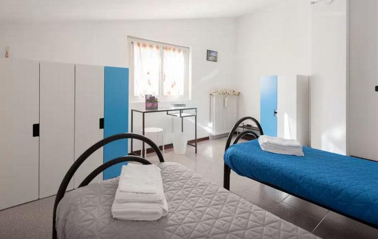 Camera doppia Blu