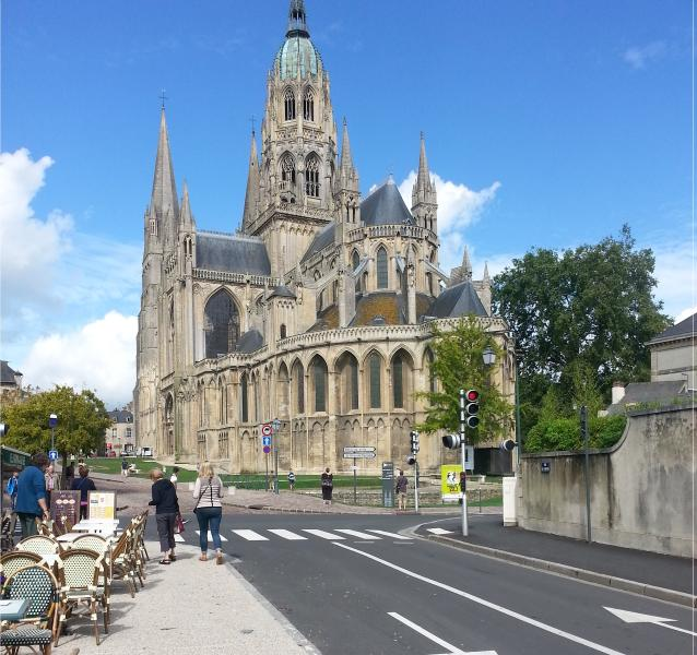 Bayeux Cathedral a beautifull place to spend the day.