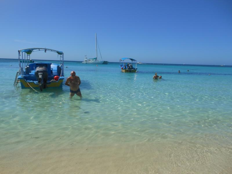 Steps to the best beach where you can go out on an adventure, grab a boat or water taxi.