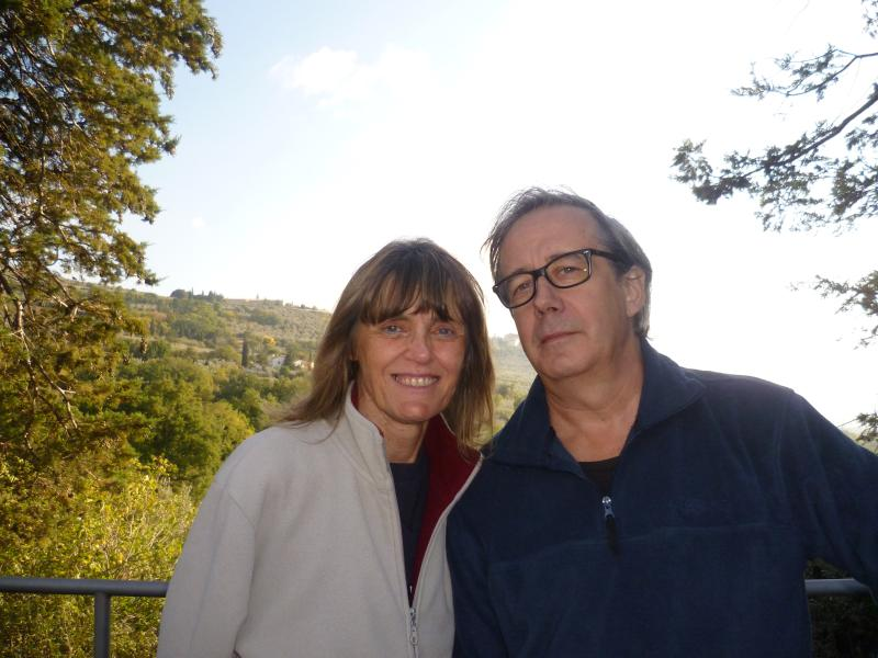 Anna e Paolo will welcome you at Il Nido