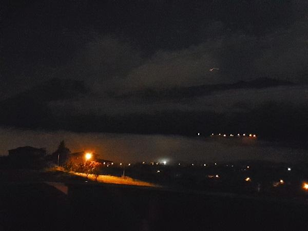 Mountain views by night