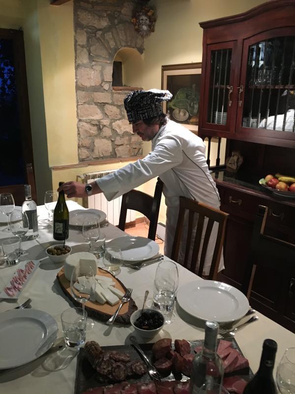 Chef/Owner of Hostaria Il Gobbo - Villa Chef