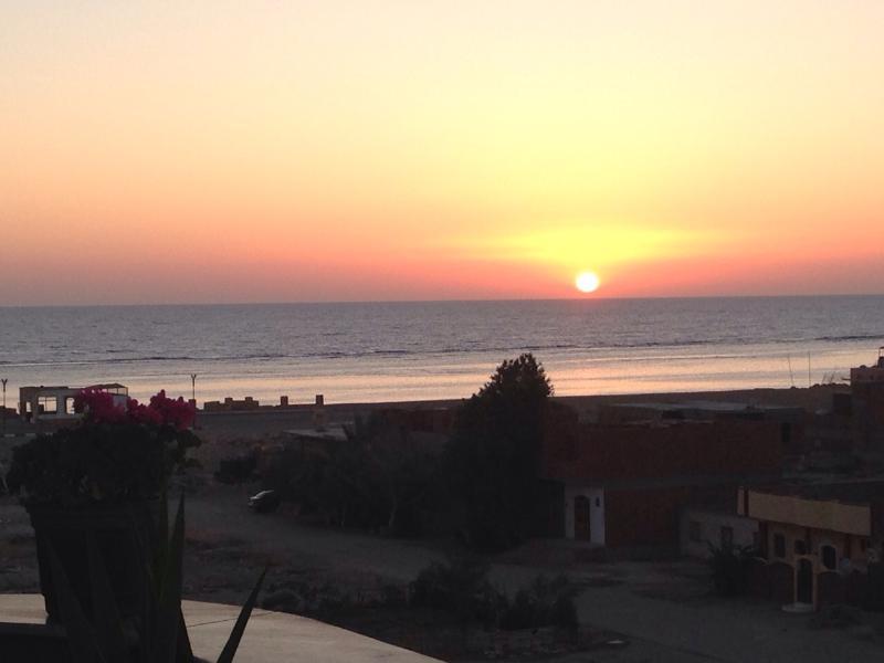 Sunrise on the Red Sea