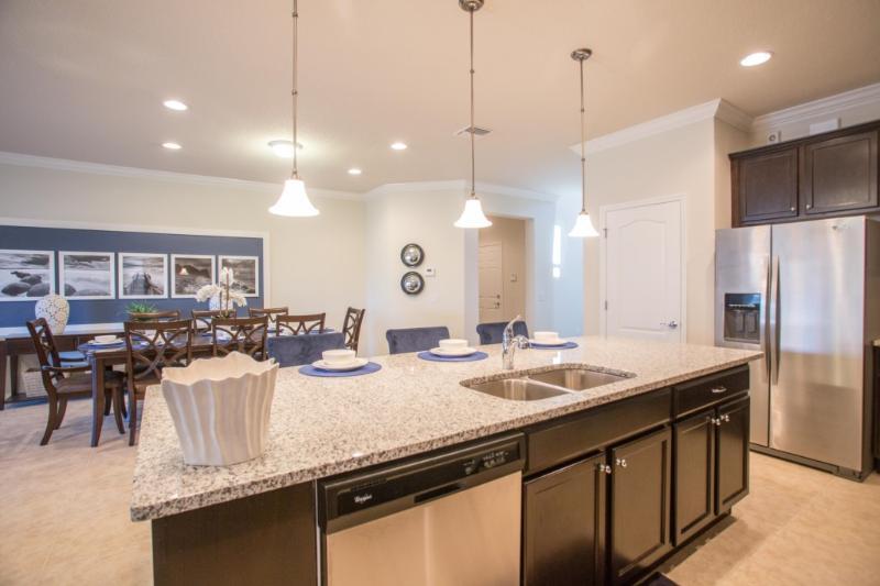 Interior, Cocina, Sala, Comedor, Nevera