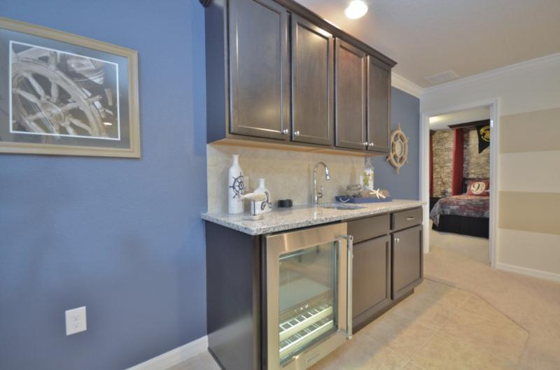 Interior, cocina, salón, gabinete, muebles
