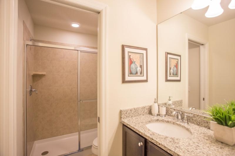 Cuarto de baño, Interior, arte, sala, fregadero