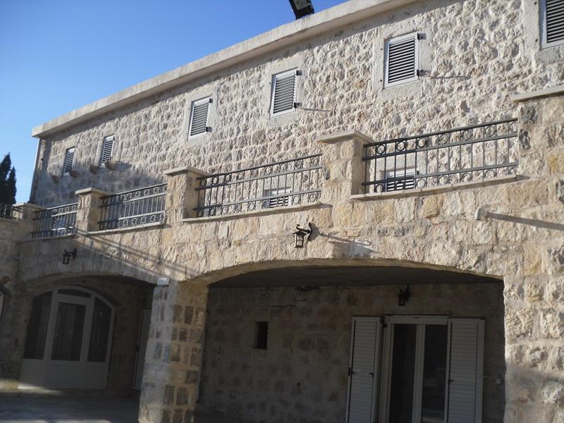 Villa Emma, beautiful stone house located in center of Rijeka Rezevici, 150m near sea.