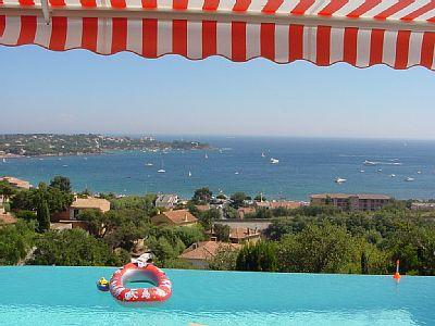 villa Agay grande vue mer, holiday rental in Saint-Raphael