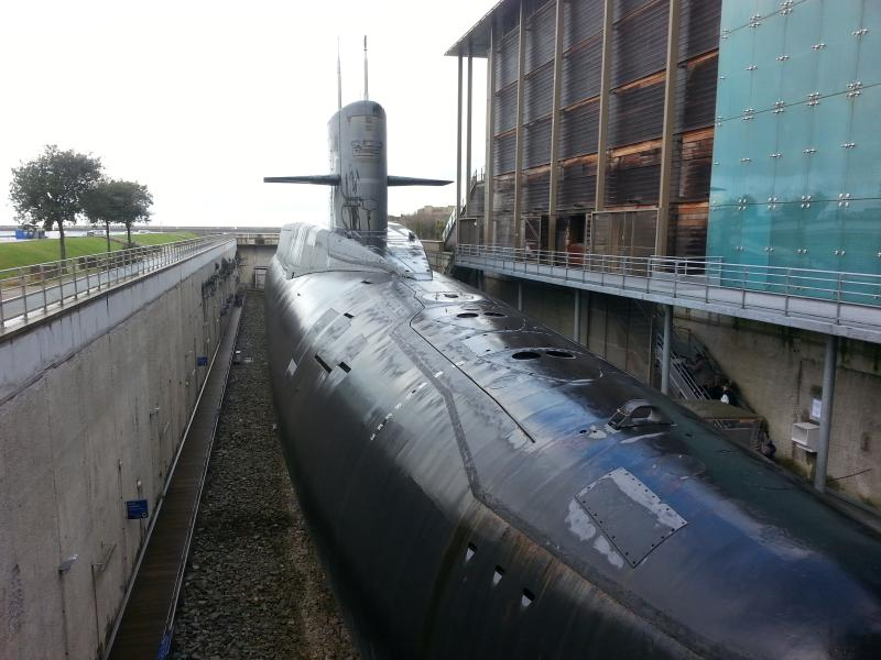 the nuclear submarine The Redoubtable a fascinating tour round at the Cite de la Mer