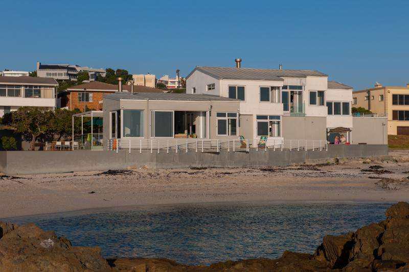 House from the beach