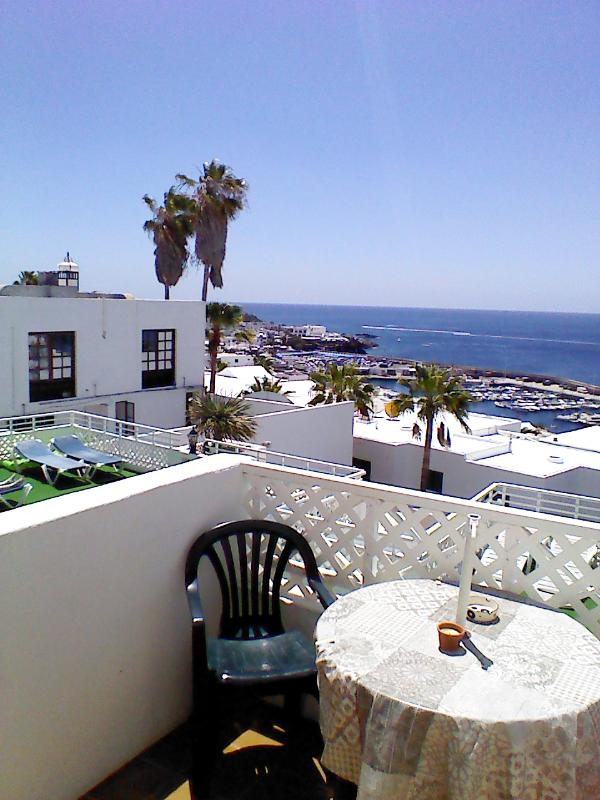 View from our studio balcony