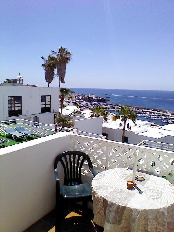 Vista desde el balcón de estudio