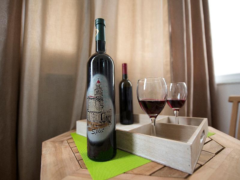 ... wine ...