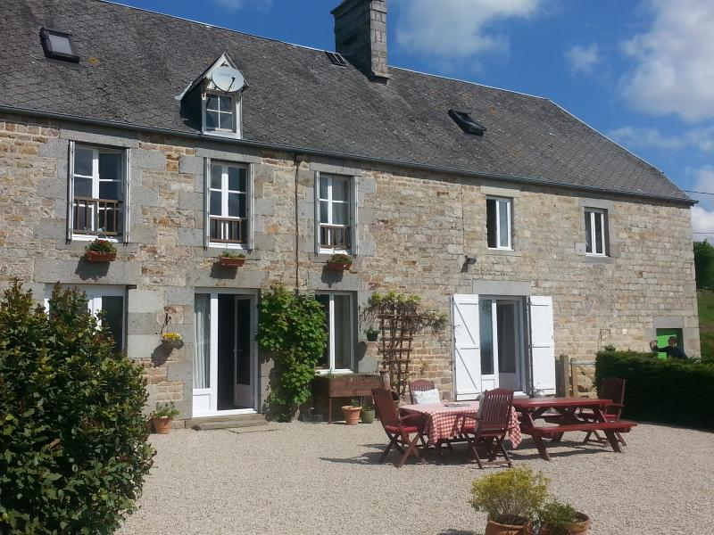 We are a typical stone farmhouse in Lower Normandy built in 1830 in a stunning part of France.