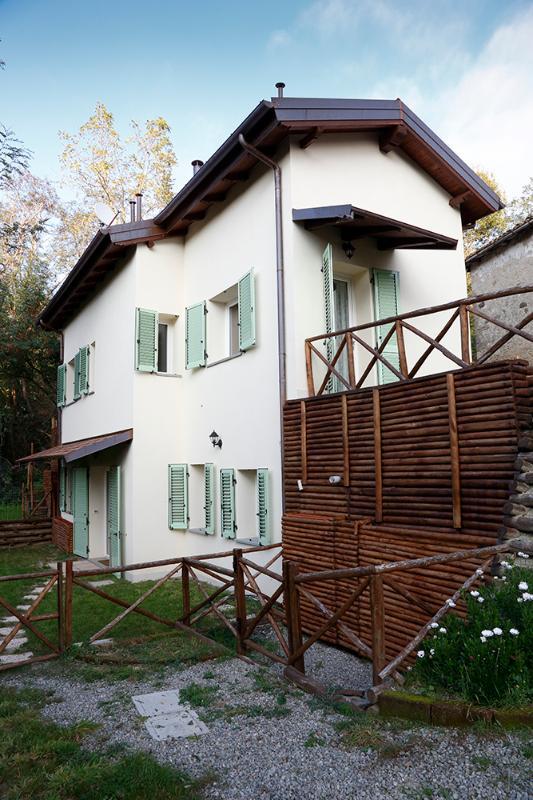 Casa di Cinti: Monolocale con giardino, inserito al piano inferiore della casa