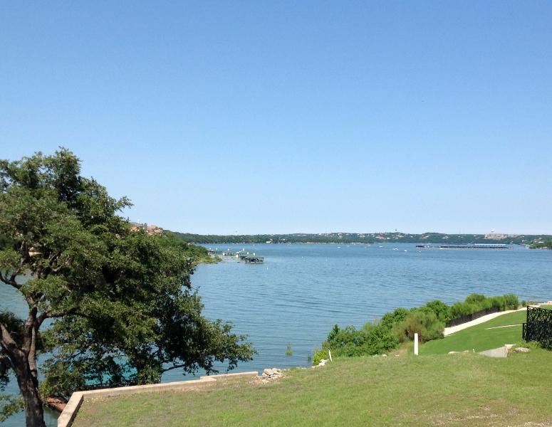 View of Lake Travis from the deck