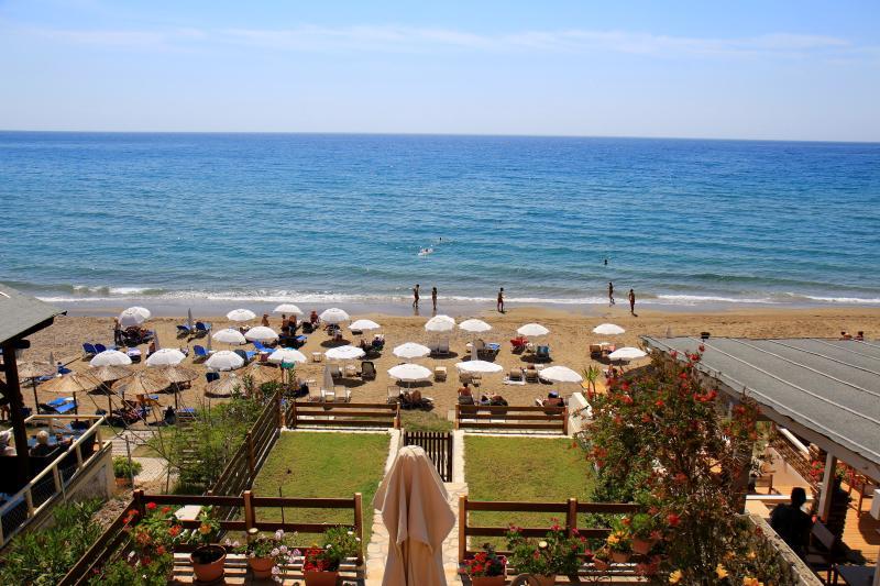 Beach view from the verandah