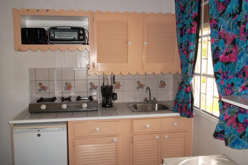 Sample of kitchen studio apartments